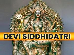 Devi Siddhidatri Puja Vidhi Mantra And Significance