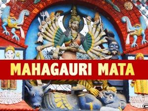 Mata Mahagauri Puja Vidhi Mantra And Significance