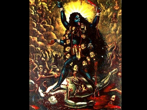 Here S Why Goddess Kali Is Naked And Stands On Shiva In Bengali
