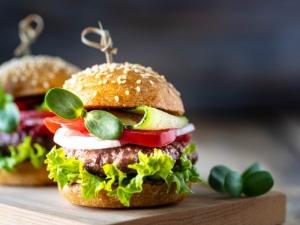 Cheesy Chicken Burger Recipe