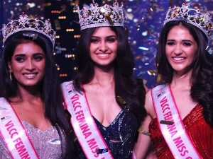 Miss India 2020 Winner Manasa Varanasi From Telangana Was Crowned The Winner Of Miss India