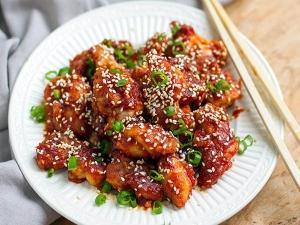 Korean Fried Chicken Recipe In Bengali